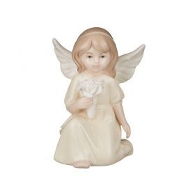 Фигурка ангелочек 6.5*4.5*10см