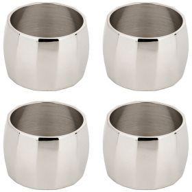 Комплект из 4-х колец для салфеток. латунь (кор=36комп.) диаметр 4,5 см-726-225