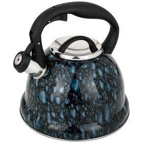 Чайник agness со свистком, 3л c индукцион. капсульным дном (кор=6шт.)-907-090