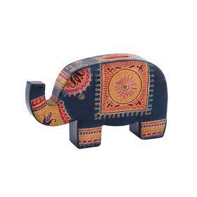Копилка кожаная  слон 20*12 см.