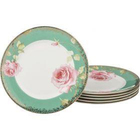 Набор тарелок амелия из 6 шт. диаметр=21 см.