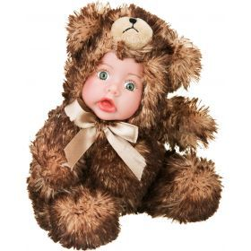 Кукла зверята высота=15 см.