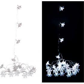 Электрогирлянда со светодиодами 3 м 20 led   холодный белый-857-008