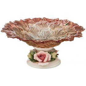 Декоративная чаша высота=15 см.диаметр=33 см.