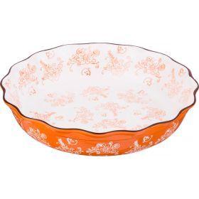 Блюдо для запекания диаметр=30 см. высота=7 см.-536-179