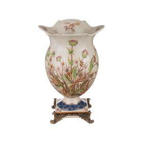 Декоративная ваза диаметр=25 см. высота=37 см.-469-262