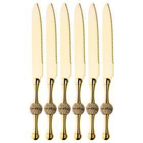 Набор из 6-ти ножей длина=19,5 см (мал=6шт./кор=24наб.)-363-569
