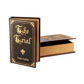 Комплект из 2-х шкатулок-книг 33*22*7 / 26*17*5 см-184-157