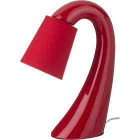 Светильник с абажуром высота=37 см.диаметр абажура=12 см.е14 220w-139-175