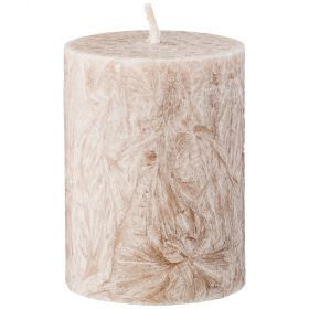 Свеча ароматическая стеариновая столбик  indian silk диаметр 6 см высота 8,5 см-348-794