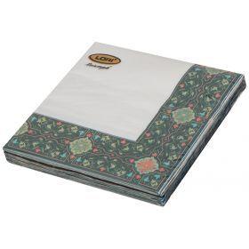 Комплект салфеток бумажных 3-х слойных из 20 шт.