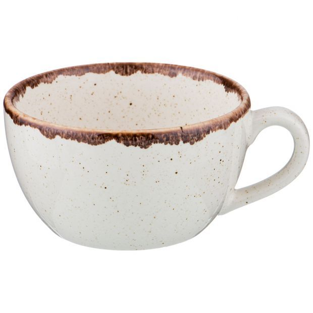 Чашка seasons 250 мл цвет бежевый (кор=24шт.)-664-204