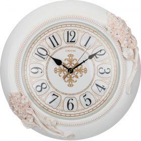 Часы настенные кварцевые 46*9*44 см. диаметр циферблата=30 см.-204-143