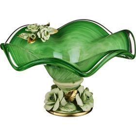 Декоративная чаша диаметр=25 см.высота=14 см.-647-645