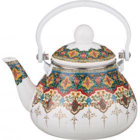 Чайник эмалированный с фильтром из нжс 1,3 л.-934-332