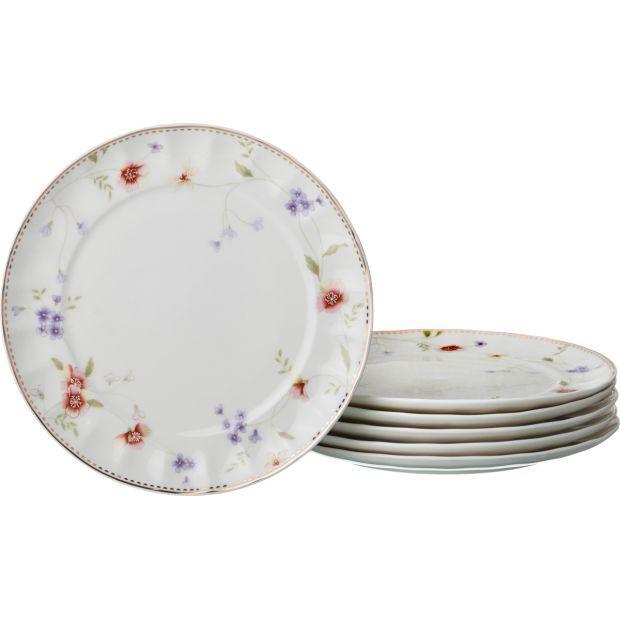 """Набор десертных тарелок """"пасадена"""" из 6 шт. диаметр=20 см.-54-363"""