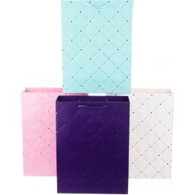 Комплект бумажных пакетов из 12 шт 40*30*12 см.-512-511