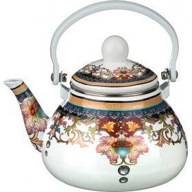 Чайник эмалированный с фильтром из нжс 1,3 л.-934-314