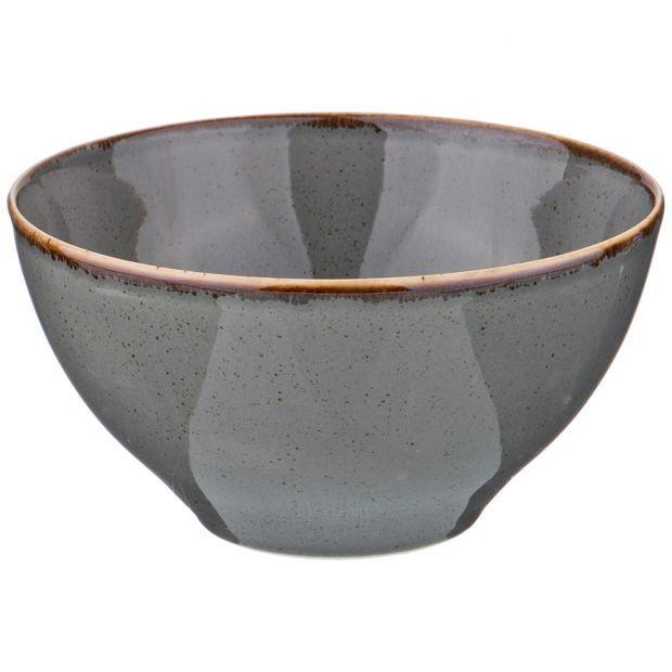 Салатник seasons 16 см цвет темно-серый (кор=12шт.)-664-140