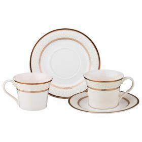 Чайный набор на 2 персоны 4 пр. 200 мл (кор=8набор.)-115-288