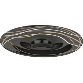 Блюдо калипсо black авторская роспись диаметр=40 см.