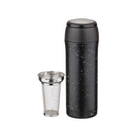 Термокружка с фильтром и кнопкой-стопером, 400 мл-910-513