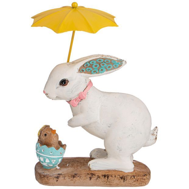 "Фигурка ""пасхальный кролик"" 13*8*18 см. (кор=36шт.)-787-209"