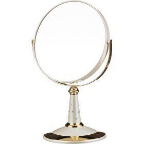 Зеркало настольное диаметр=18 см.высота=30 см.увеличение в 7 раз-416-080