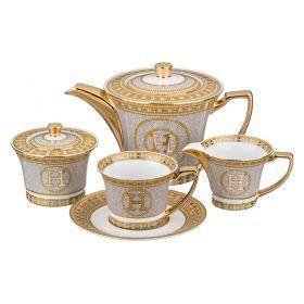 Чайный сервиз на 6 персон 15 пр. 900/200 мл.-215-224