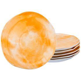 Набор тарелок десертных из 6 шт. диаметр=21 см. коллекция