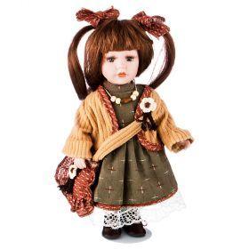 Кукла фарфоровая высота=30 см.-346-251