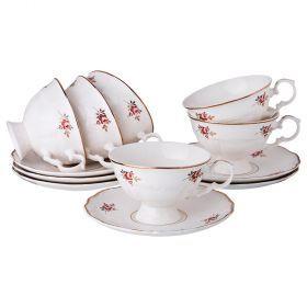 Чайный набор на 6 персон 12 пр. 230 мл.-275-940