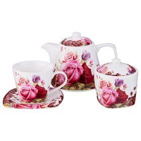Чайный набор на 6 персон 14пр. 700/220/280мл-165-410