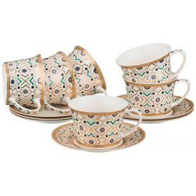 Кофейный набор на 6 персон 12 пр.200 мл.-760-407