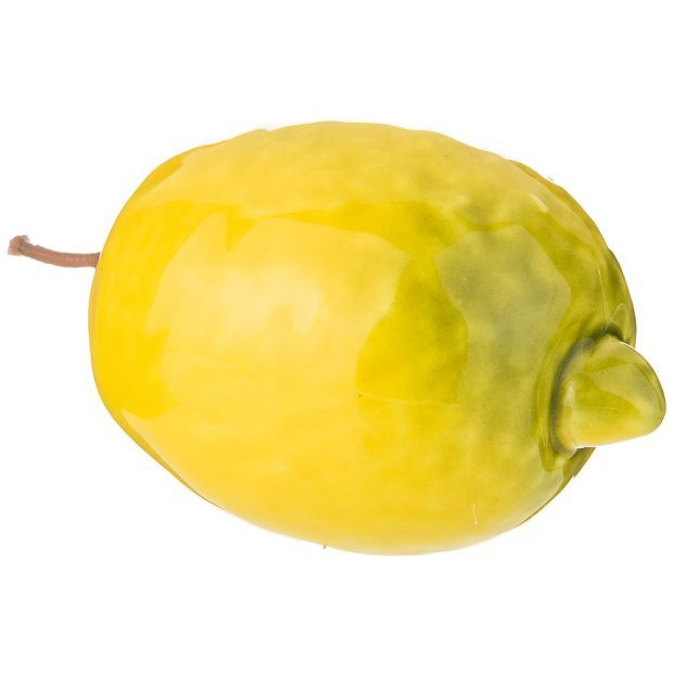 """Изделие художественно-декоративное """"лимон"""" высота 9см-335-379"""