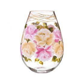 Ваза декоративная роза на жгуте высота=37 см-135-5036