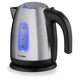 Чайник электрический hottek сталь ht-960-006 1,7л 2200 вт-960-006