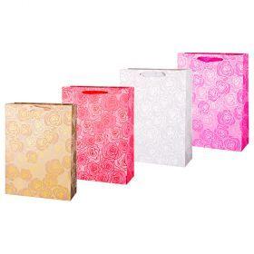 Комплект бумажных пакетов из 12 шт  40*30*12 см.-512-578