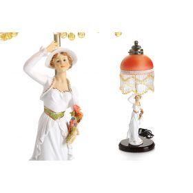 Светильник настольный дама в шляпе высота=53 см.220в 40вт.