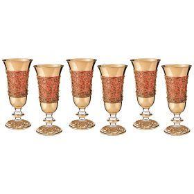 Набор бокалов для вина из 6 шт.250 мл.высота=18 см.