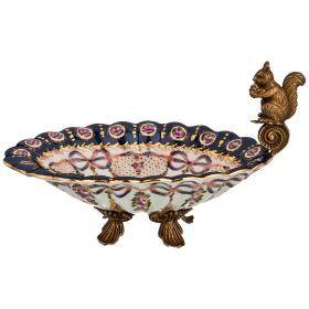Блюдо для сервировки стола 22*15 см высота=13 см (кор=4шт.)-469-310