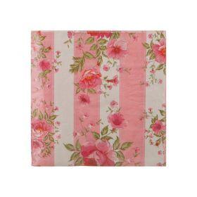Комплект салфеток бумажных 2-х слойных из 20 шт.33*33 см.-423-1003