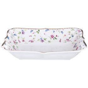 Блюдо для слоеных салатов 24,5*18*5 см-274-886