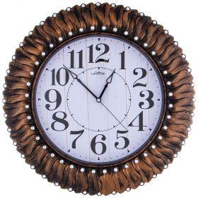 Часы настенные кварцевые диаметр 52 см диаметр циферблата 33 см-207-392