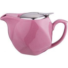 Заварочный чайник 500 мл. розовый-470-352
