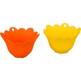 Набор для приготовления яиц из 2 шт.диаметр=11 см.высота=6 см.-710-326