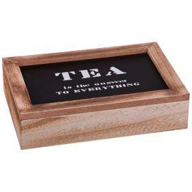 Шкатулка для чая tea 22*29*8 см.