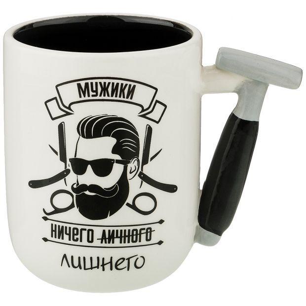 "Кружка""коллекция ""for man"" 330мл (кор=48 шт.)-188-205"