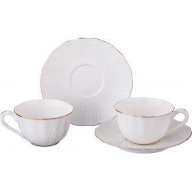 Чайный набор на 2 персоны 4 пр. 200 мл.-760-538