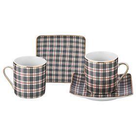 Кофейный набор на 2 персоны 4 пр. 70мл. (кор=36набор.)-85-1549